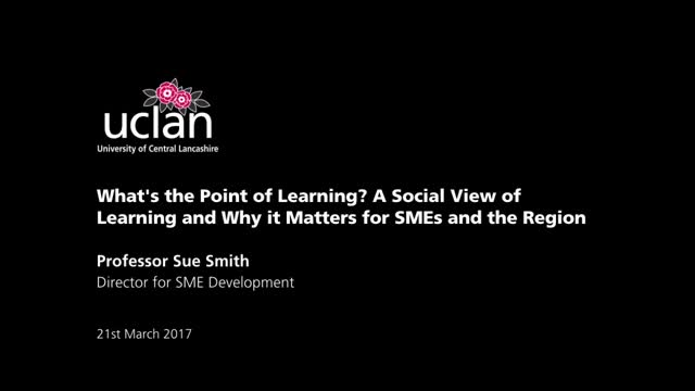 Sue Smith Inaugural Professorial Lecture